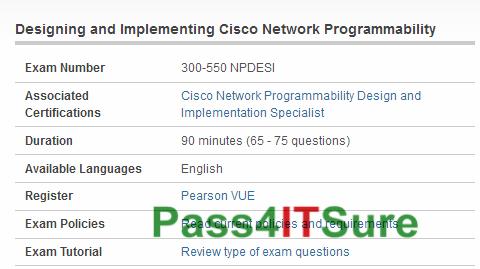 100% Success Rate Cisco 300-550 Dumps NPDESI PDF