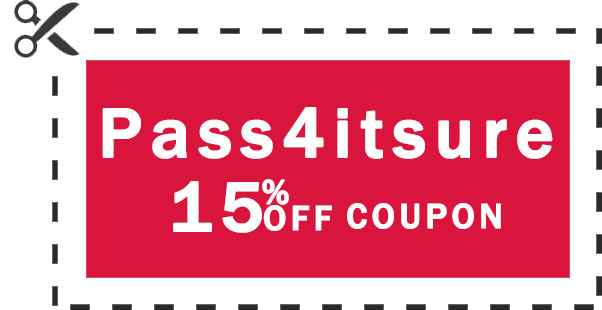 pass4itsure 15% coupon