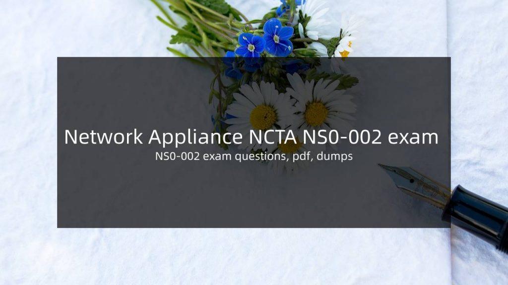 NS0-002 Dumps PDF Questions